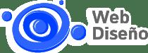 web diseño logo azul