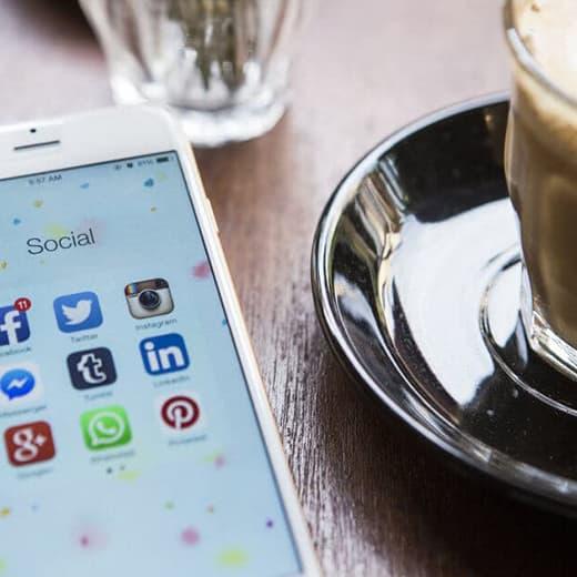 Redes sociales webdiseño