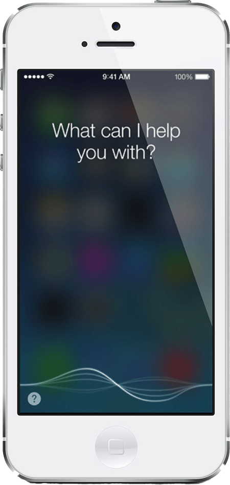 Siri web diseño